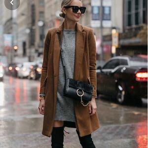 Zara wool coat fully lined